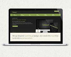 in4med new web design - laptop only